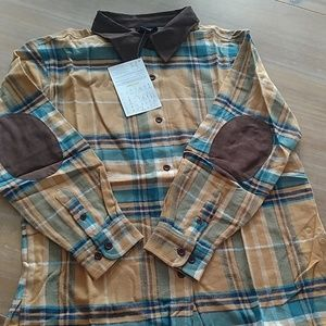 Denim and Co heavy flannel shirt